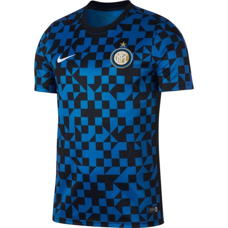 Nike Maglia Calcio Inter Pre Match 19/20 Blu Uomo