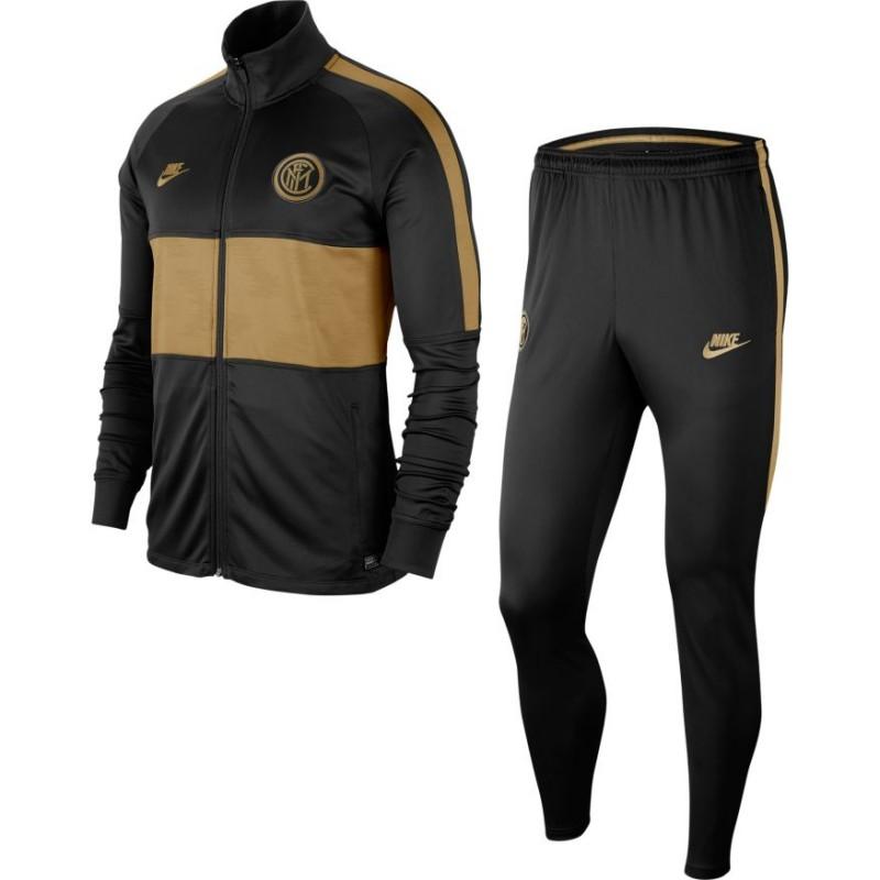 6612c88851 Nike Tuta Calcio Inter Strike Nero Oro Uomo