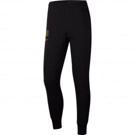 Nike Pantaloni Allenamento Calcio Inter Flc Nero Oro Uomo