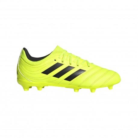 ADIDAS scarpe da calcio copa 19.3 fg nero giallo bambino