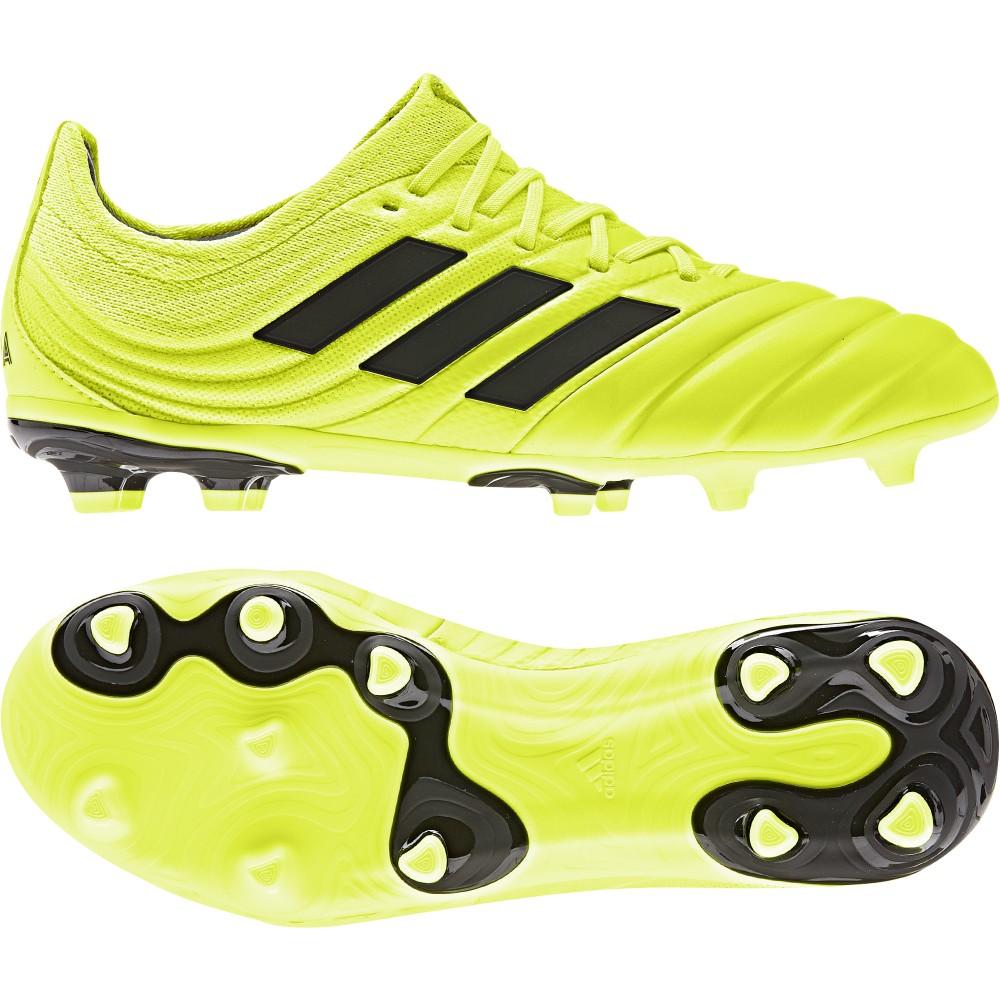 ADIDAS scarpe da calcio copa 19.1 fg giallo nero bambino