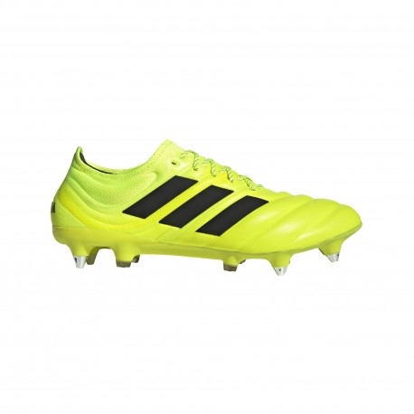 ADIDAS scarpe da calcio copa 19.1 sg giallo nero uomo