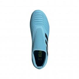 ADIDAS scarpe da calcio predator 19.3 ll fg azzurro nero uomo