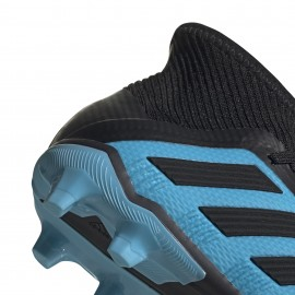 ADIDAS scarpe da calcio predator 19.1 fg azzurro nero bambino