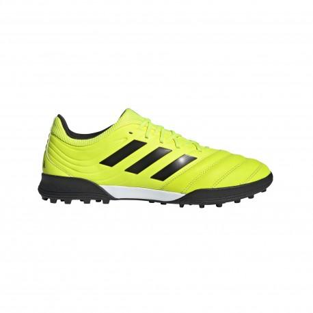 ADIDAS scarpe da calcio copa 19.3 tf giallo nero uomo
