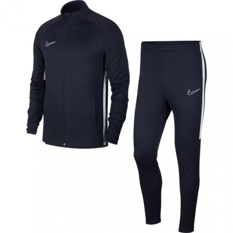 Nike Tuta Calcio Academy Football Blu Bianco Uomo