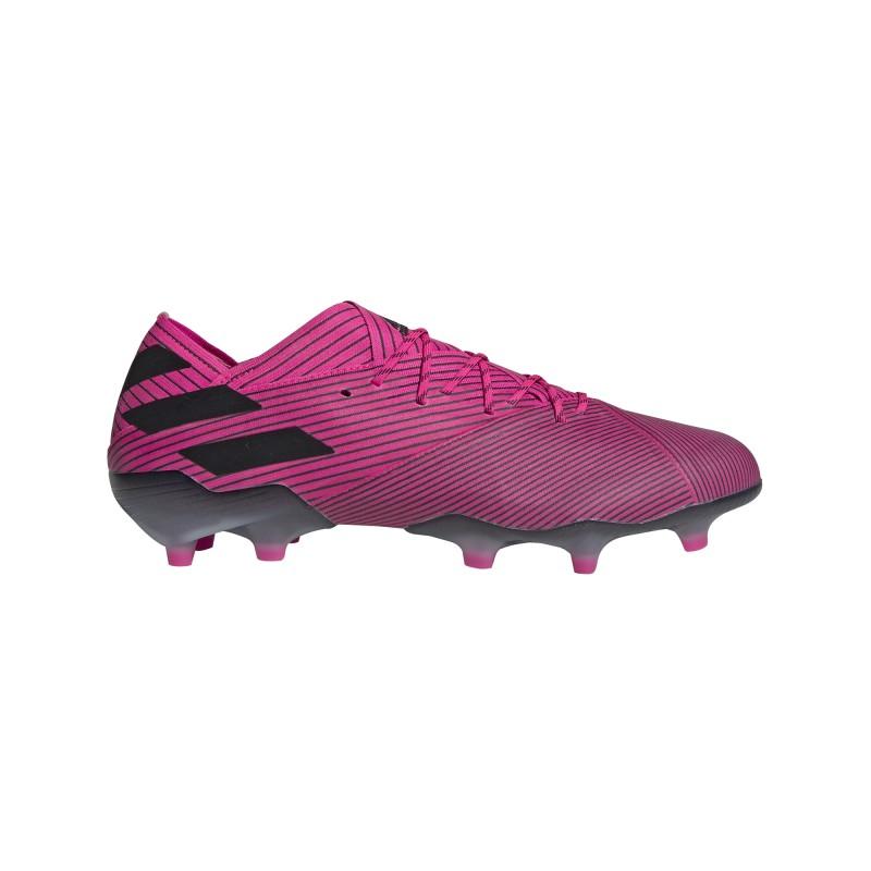 ADIDAS scarpe da calcio nemeziz 19.1 fg rosa nero uomo