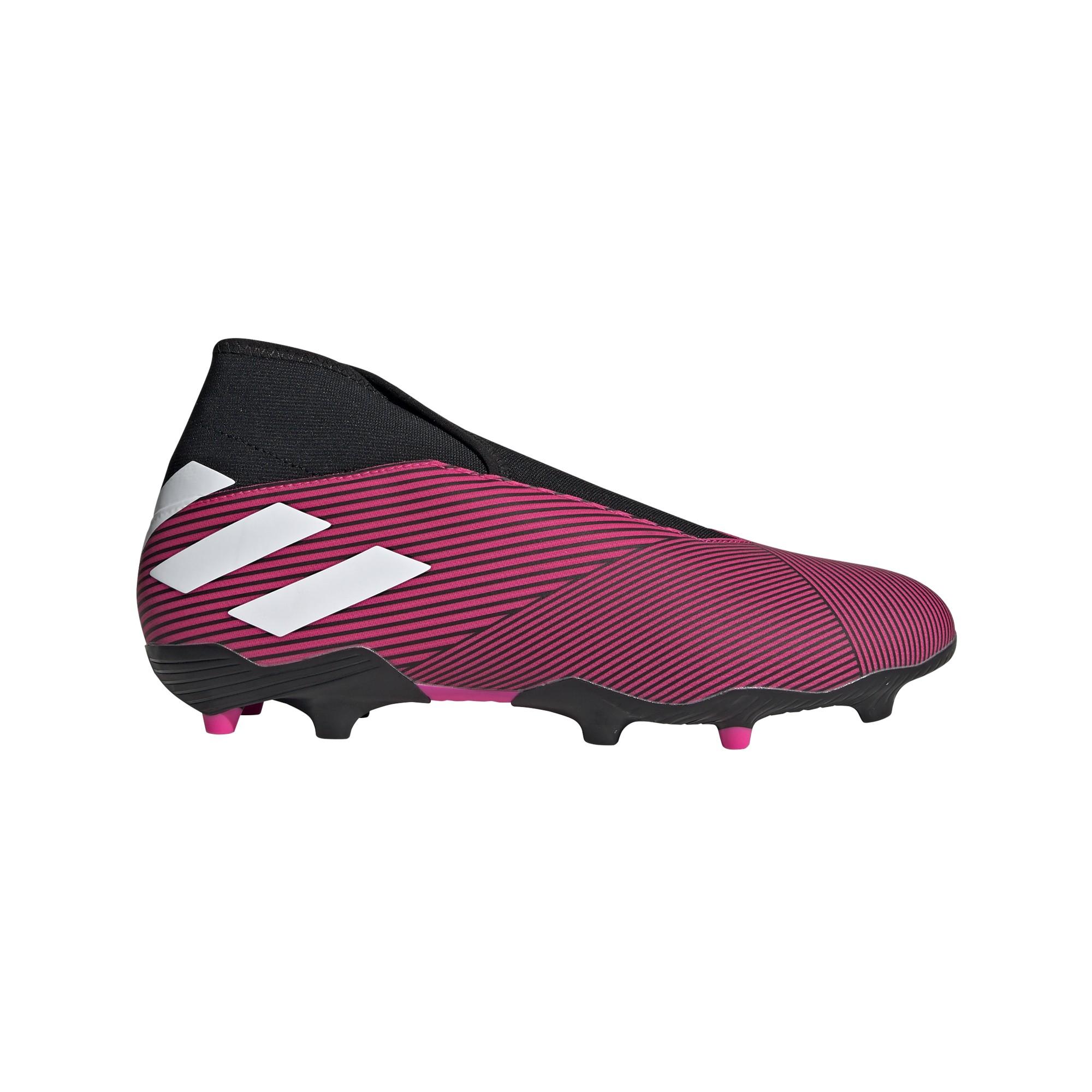 ADIDAS scarpe da calcio nemeziz 19.3 ll fg rosa bianco nero