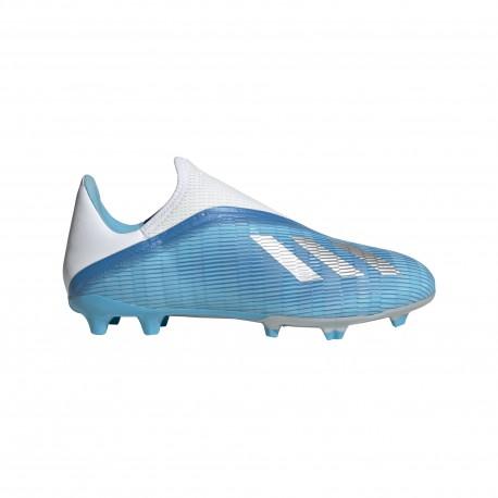 ADIDAS scarpe da calcio x 19.3 ll fg cyan nero rosa uomo