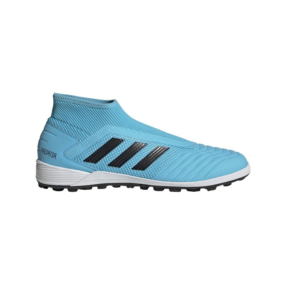 ADIDAS scarpe da calcio predator 19.3 ll tf cyan nero giallo