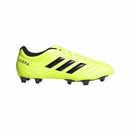 ADIDAS scarpe da calcio copa 19.4 fg giallo nero uomo