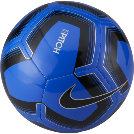 Nike Pallone Da Calcio Pitch Train Nero Blu Uomo