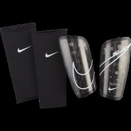 Nike Parastinchi Calcio Mercurial Lite Nero Bianco Uomo
