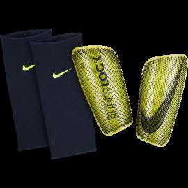 Nike Parastinchi Calcio Mercurial Lite Superlock Volt Obsidian Uomo