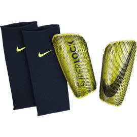 Nike Parastinchi Calcio Mercurial Lite Superlock Giallo Nero Uomo