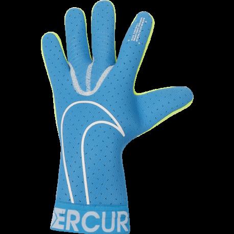 Nike Guanti Calcio Mercurial Touch Elite Fa19 Blu Bianco Uomo