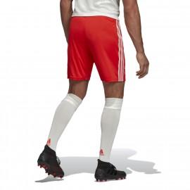 ADIDAS pantaloncini calcio juve away rosso bianco uomo