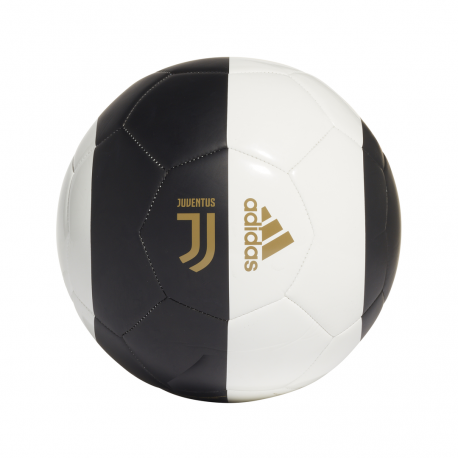 ADIDAS pallone da calcio juve capitano nero bianco uomo