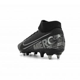 Nike Scarpe Da Calcio Superfly 7 Academy Sg Pro Ac Nero Grigio Uomo
