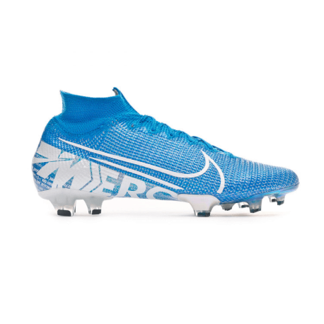 Nike Scarpe Da Calcio Vapor 13 Elite Fg Blu Bianco Uomo