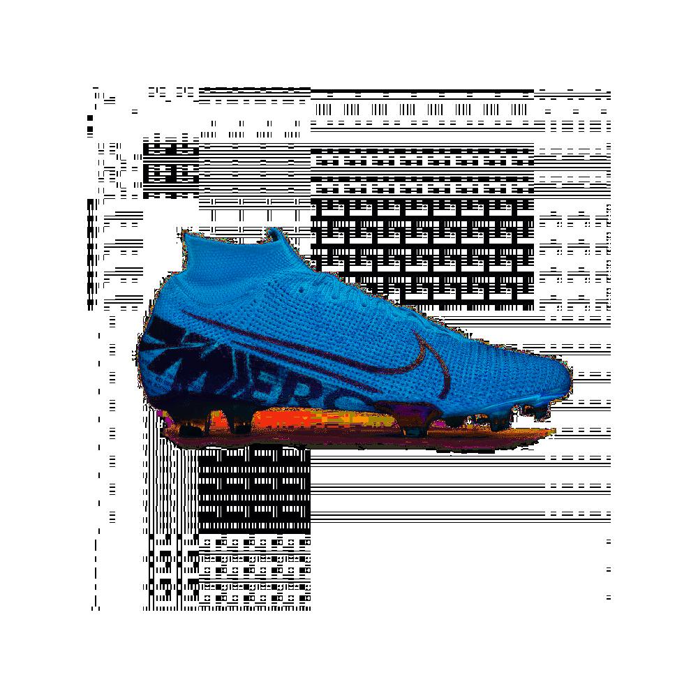 Nike Scarpe Da Calcio Superfly 7 Elite Fg Blu Bianco Uomo