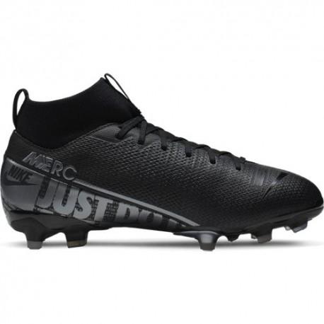Nike Scarpe Da Calcio Superfly 7 Academy Fg Mg Nero Grigio Bambino