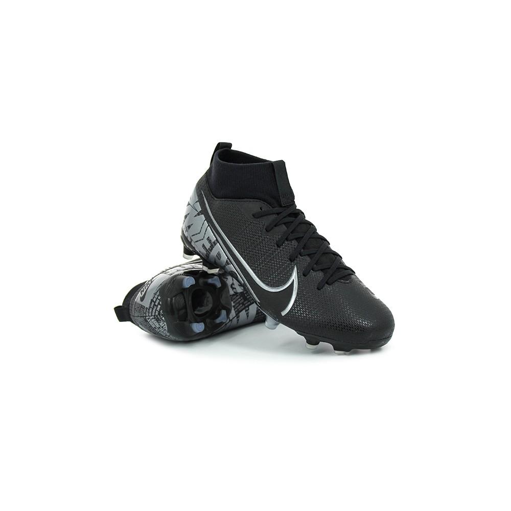 Nike Scarpe Da Calcio Superfly 7 Academy Fg Mg Nero Grigio