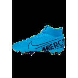 Nike Scarpe Da Calcio Superfly 7 Academy Fg Mg Blu Bianco Bambino