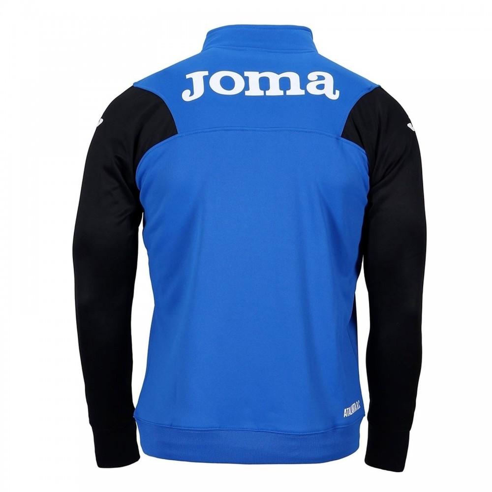 Joma Sport Felpa Calcio Atalanta Allenamento Azzurro Nero Bambino ...