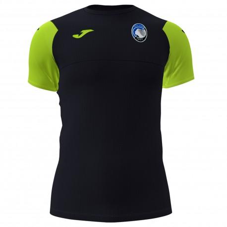 Joma Sport Maglia Calcio Atalanta Allenatore Nero Giallo Uomo