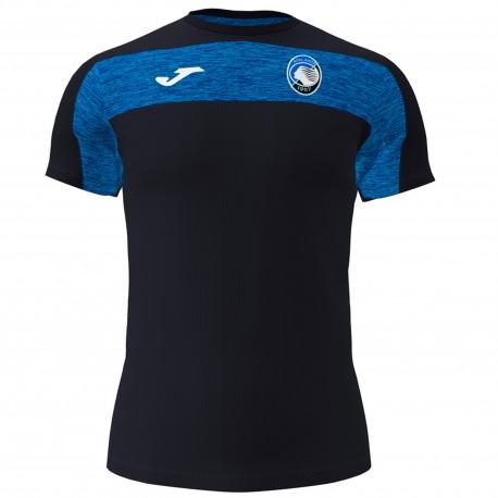 Joma Sport Maglia Calcio Atalanta Free Time Nero Azzurro Bambino