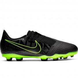 Nike Scarpe Da Calcio Phantom Venom Academy Fg Nero Lime Bambino
