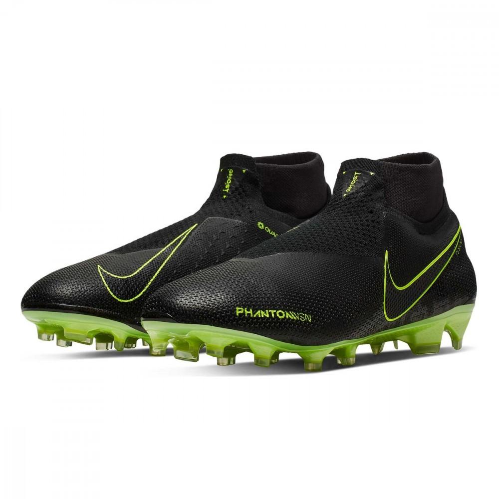 Nike Phantom Vision Elite FG Giallo Nero New Lights | Scarpe