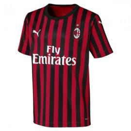Puma Maglia Calcio Milan Home 19 20 Rosso Nero Bambino