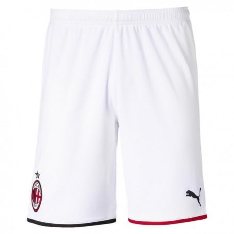 Puma Pantaloncini Calcio Milan Home 19 20 Rosso Nero Uomo