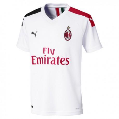 Puma Maglia Calcio Milan Away Bianco Rosso Nero Bambino
