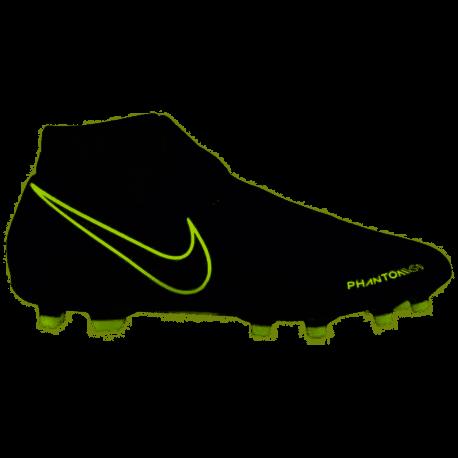 Nike Scarpe Da Calcio Phantom Vision Academy Df Fg Mg Nero Volt Uomo