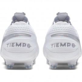 Nike Scarpe Da Calcio Legend 8 Elite Fg Bianco Grigio Uomo