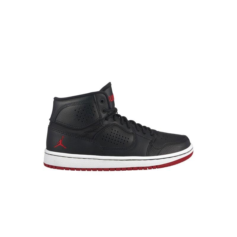 Nike Sneakers Jordan Access Gs Nero Rosso Bambino