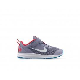 Nike Sneakers Downshifter 9 Disrupt Psv Grigio Bianco Bambino