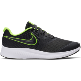 Nike Sneakers Star Runner 2 Gs Nero Lime Bambino
