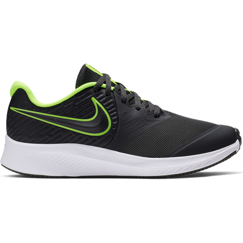 Nike Sneakers Star Runner 2 Gs Nero Lime Bambino