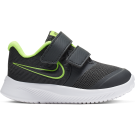 Nike Sneakers Star Runner 2 Tdv Nero Lime Bambino