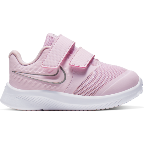 Nike Sneakers Star Runner 2 Tdv Rosa Argento Bambino