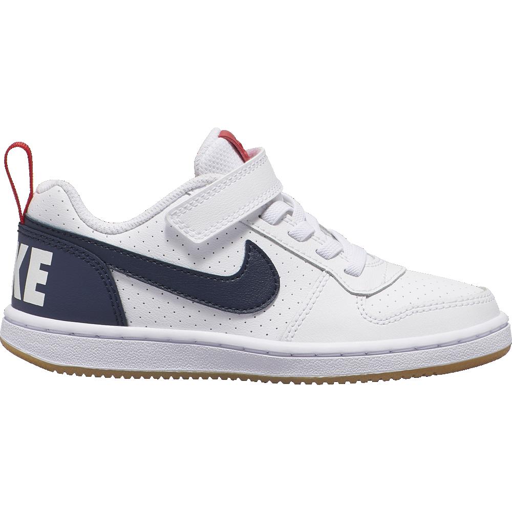 Nike Sneakers Court Borought Low Psv Bianco Nero Bambino
