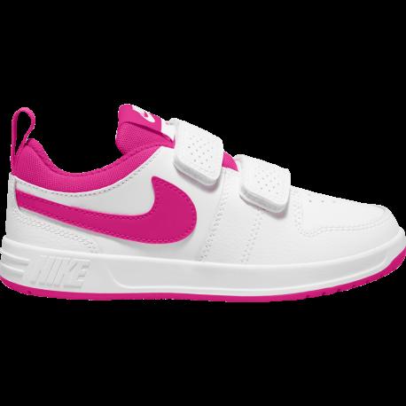 Nike Sneakers Pico 5 Psv Bianco Rosa Bambino