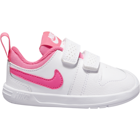 Nike Sneakers Pico 5 Tdv Bianco Rosa Bambino