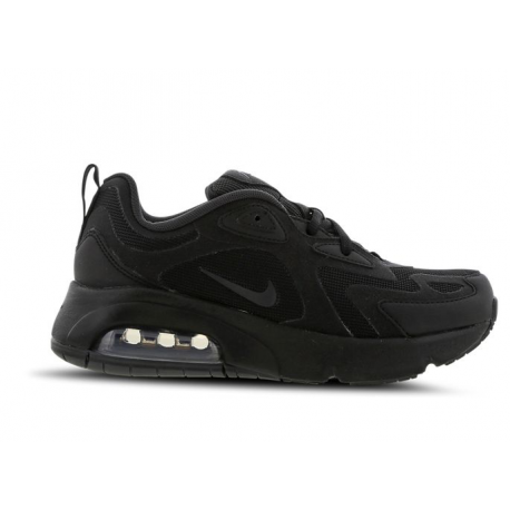 Nike Sneakers Air Max 200 Gs Nero Bambino