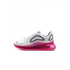 Nike Sneakers Air Max 720 Gs Bianco Rosa Bambino