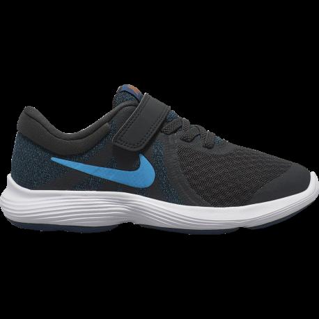 Nike Sneakers Revolution 4 Psv Blu Azzurro Bambino